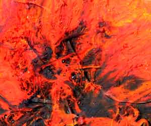 Glass Painting Wildfire 2