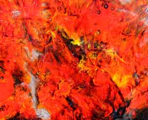 Glass Painting Wildfire 5